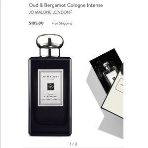 Other - JO MALONE Oud & Bergamot Cologne Intense 3.4